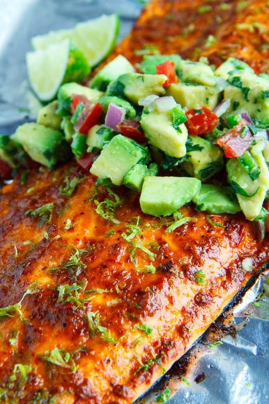 Chipotle Lime Salmon on Closet Cooking