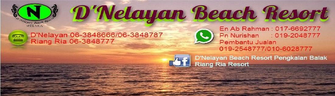 D'NELAYAN BEACH RESORT, Pantai Pengkalan Balak Melaka