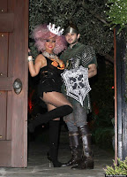christina Aguilera haloween 2012