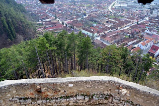 Rasnov seen from the castle