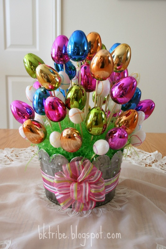 The brown eyes have it easter egg bouquet