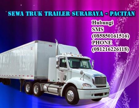 Sewa Truk Trailer Surabaya - Pacitan