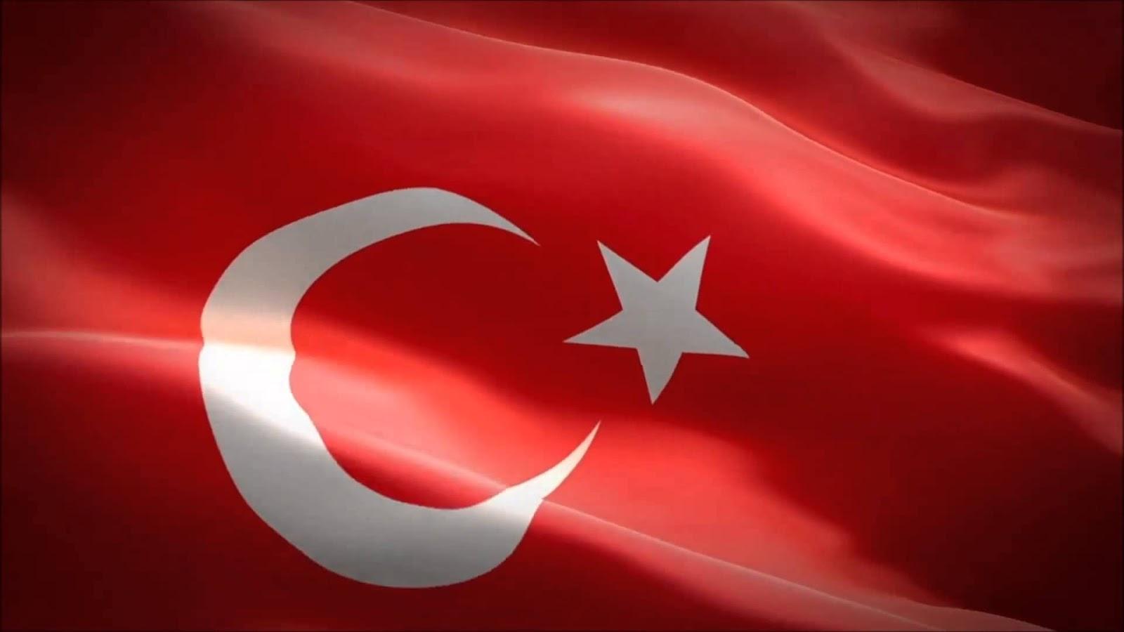 Türk Bayrağı Arka Plan Hd