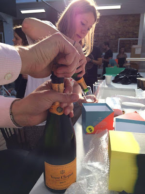 Veuve Clicquot at Tom Dixon's Pop Up Sale