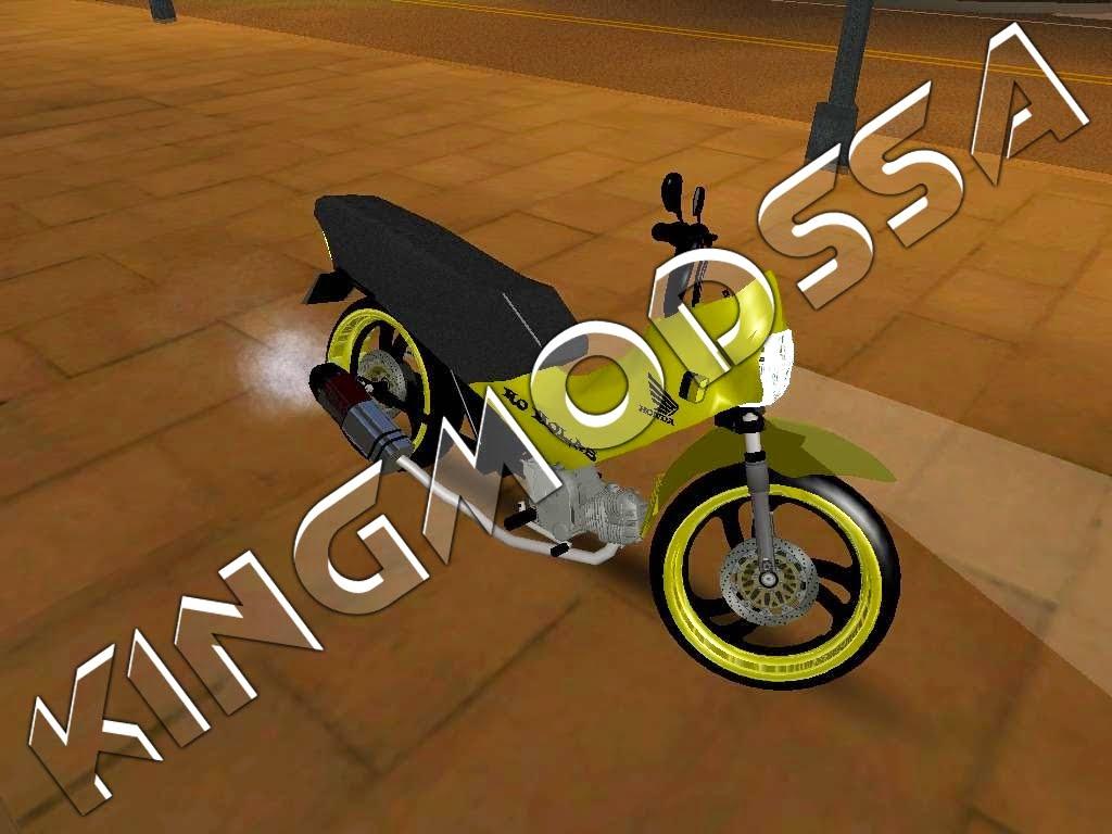 Moto Honda Pop 100 — Motocicletas — Tigre de Fogo — 3202