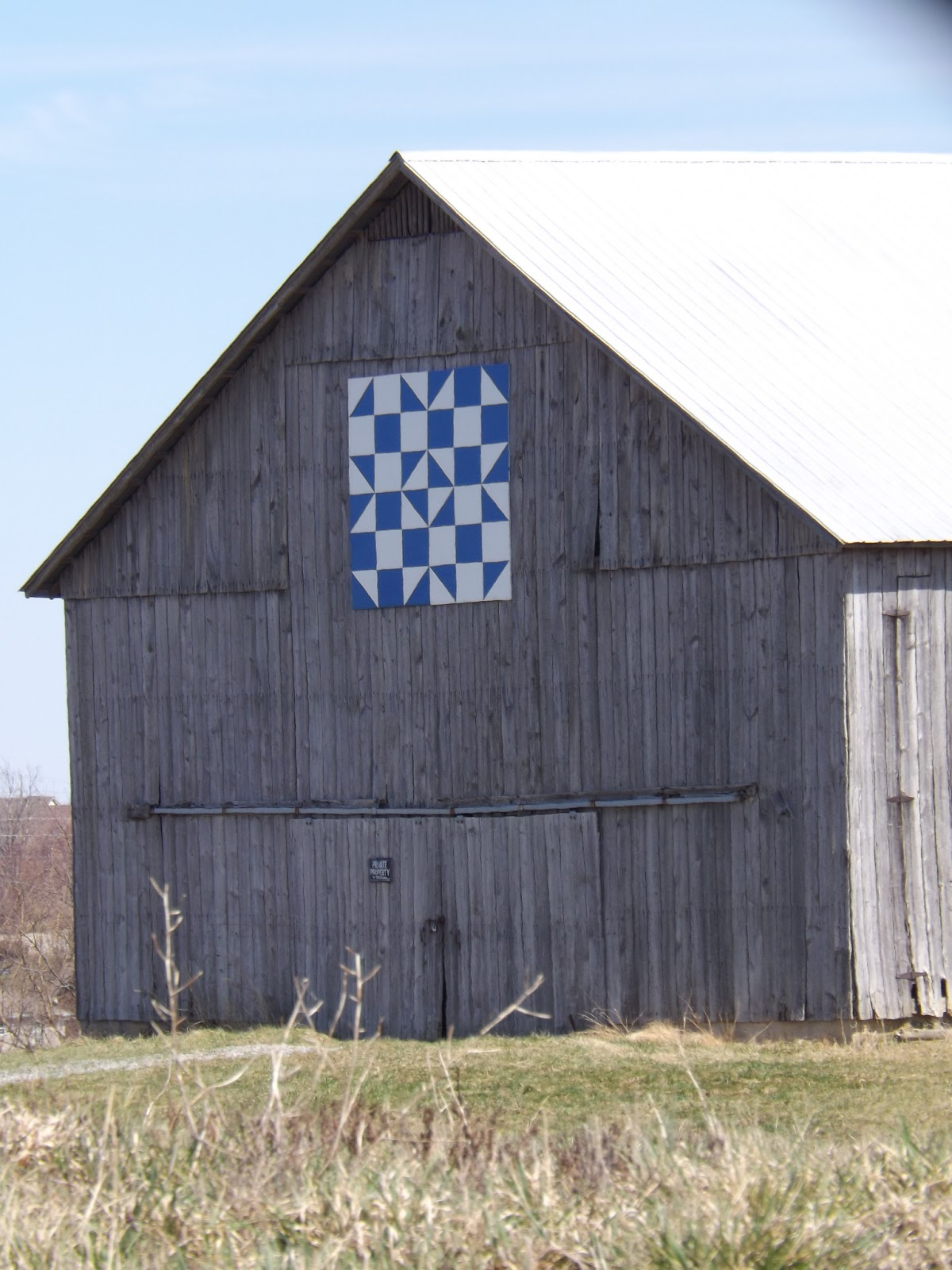 Quilt Patterns On Barns In Ky : Barn Quilts and the American Quilt Trail: Spring Comes to Kentucky!