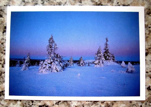 lapland postcard