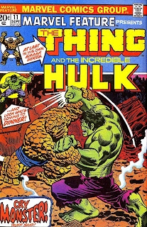 Marvel Hulk vs Thing