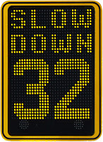safepace 700 extra large digit speed sign