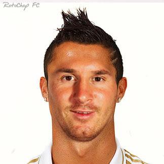 Montaje Ronaldo y Messi