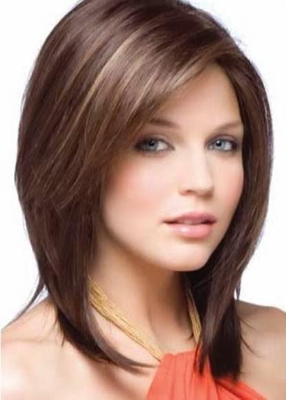 Trend model rambut sebahu untuk wanita cantik terbaru masa kini 2015