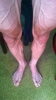 Cyclist Insane Legs