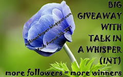 Talk In A Whisper:280+ Followers Giveaway