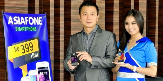 Asiadroid AF77, smartphone Android dualcore Rp 300 ribuan