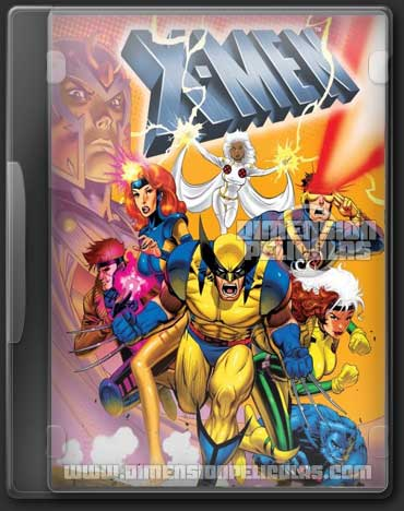 X-Men (Serie Animada Completa 5 Temporadas Español Latino)