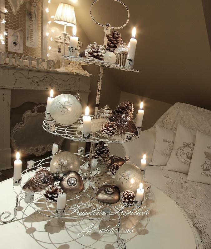 Fr ulein fr hlich 39 s welt fr ulein fr hlich s weihnachtswelt - Etagere weihnachtlich dekorieren ...