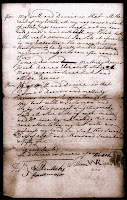 1751 Will of William Reeves Page 2