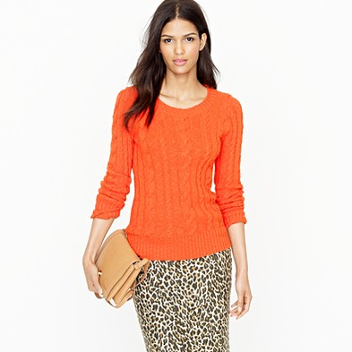 It's citrus season in Northern California. This brightly-hued sweater makes ...