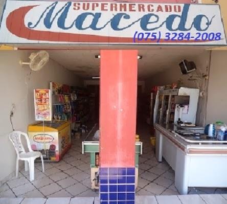 """Super-Mercado """"MACÊDO"""""""