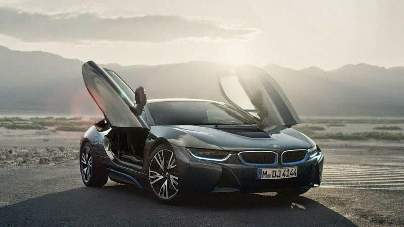 2015 New BMW i8 Safety Car