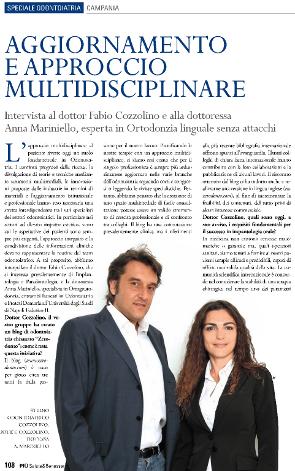 """ARTICOLO tratto dalla rivista """"Più Salute & Benessere""""inserto 11/2010 del Sole 24 Ore"""