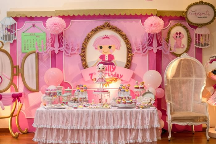 Idéias Festa Decoração Lalaloopsy
