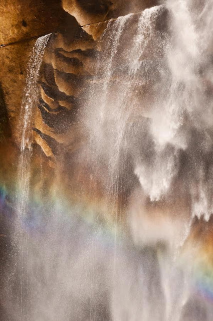 you wont see this at moma, moma, art, photography, fine art, tim macauley, timothy macauley, nature, natural, Yosemite, Yosemite national park, park,  abstraction, abstract, detail, rock, face, waterfall, water fall, rainbow