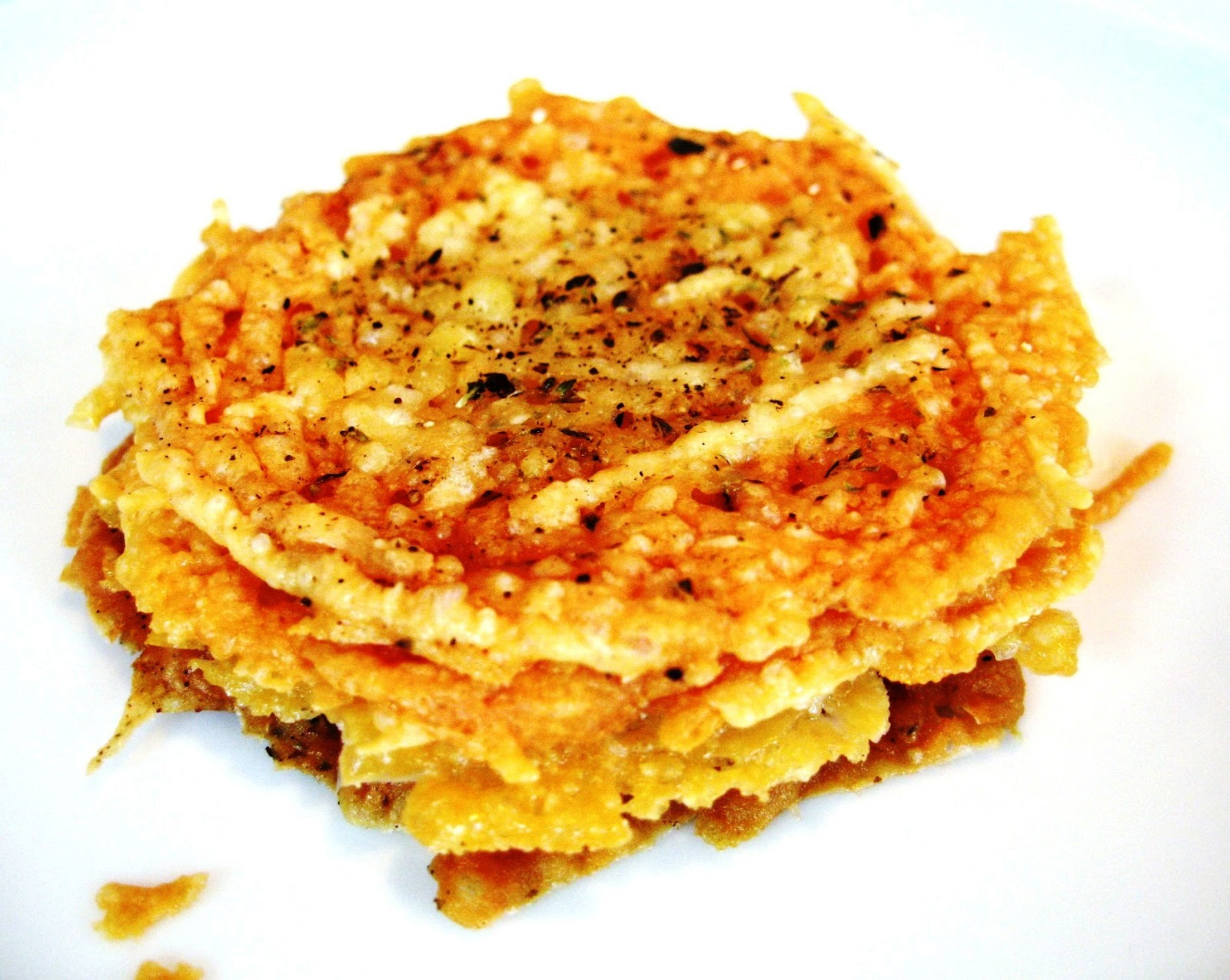 The Sensitive Epicure: Frico: Parmesan Cheese Crackers