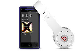 HTC Windows Phone 8X with Beats audio