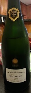 Bollinger La Grande Année 2002 Brut Champagne