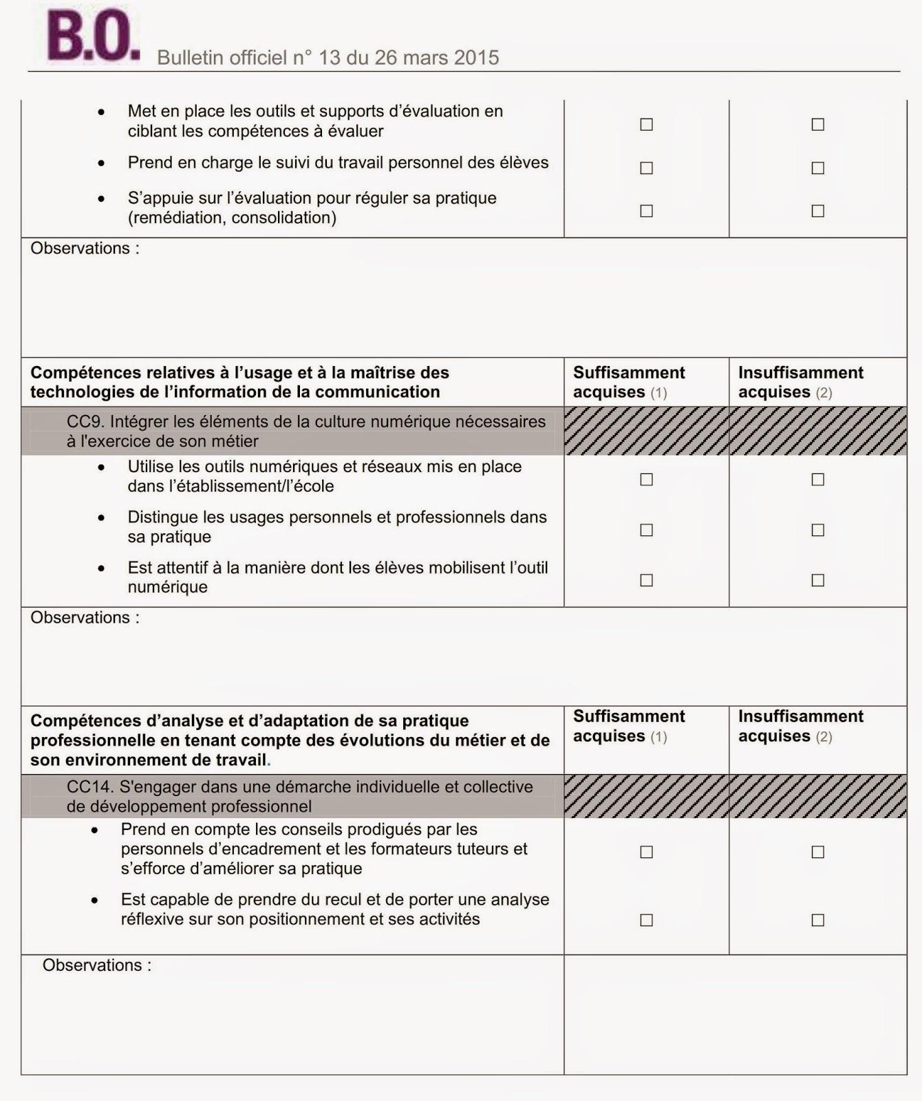 pdf  appreciation de stage par le stagiaire