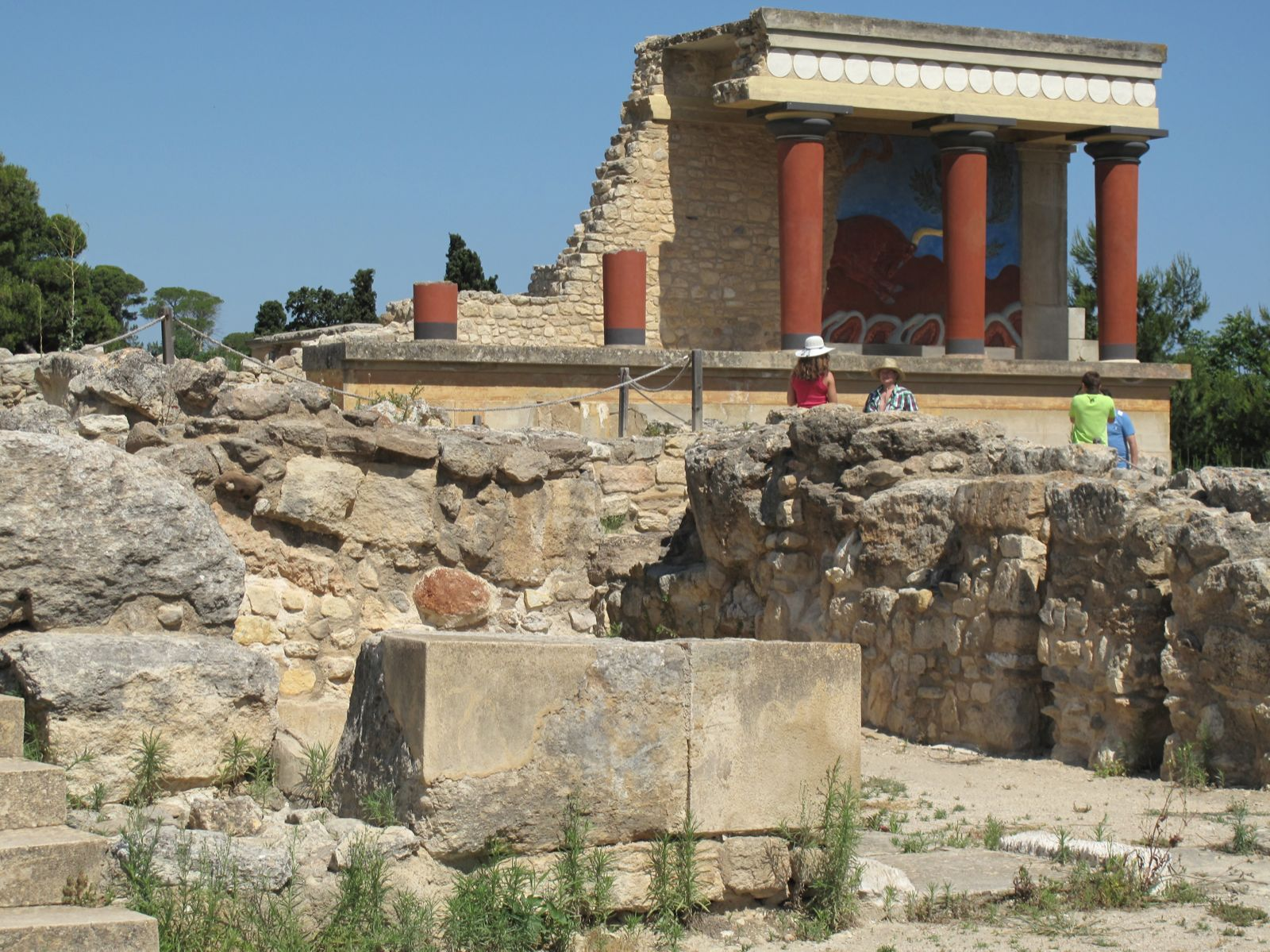 Crete - The Palace of Knossos  Expecting to Fly