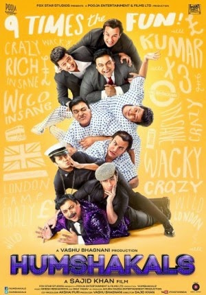 "Film Comedy ""HUMSHAKALS"" (2014)"