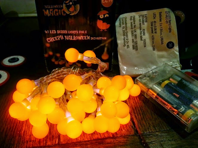 Halloween ALDI specialbuys review berry lights