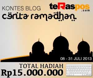 Kontes Blog Cerita Ramadhan Teras Pos