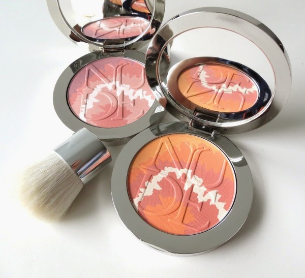 Diorskin Nude Tan Tie Dye Edition Blush Harmony palettes