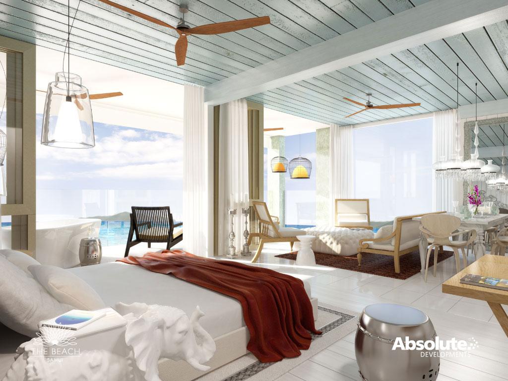 Loveisspeed the beach hotel koh samui thailand by for Yoo design hotel
