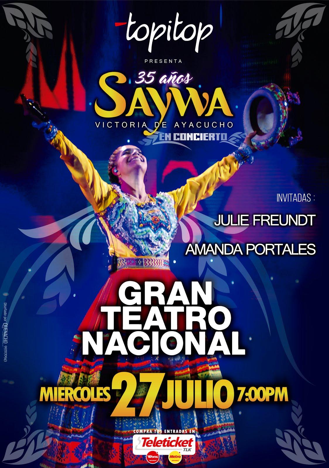 SAYWA: CONCIERTO DE GALA 35 AÑOS
