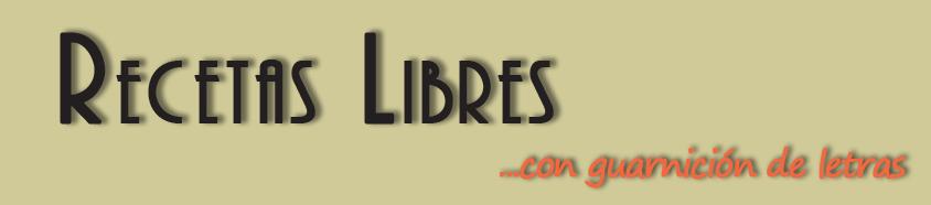 Recetas Libres