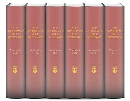 Anchor Yale Dicionário da Bíblia (6 vols.)
