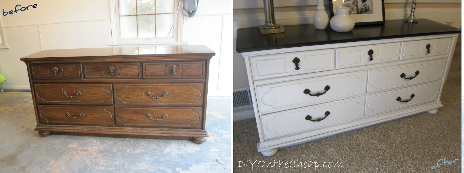 How To Refinish A Dresser Wood Furniture And Craft