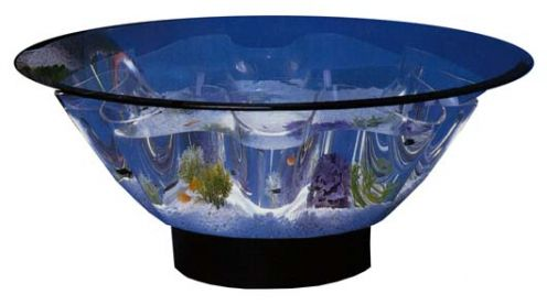 speaker aquarium fish bowl-fish-tank