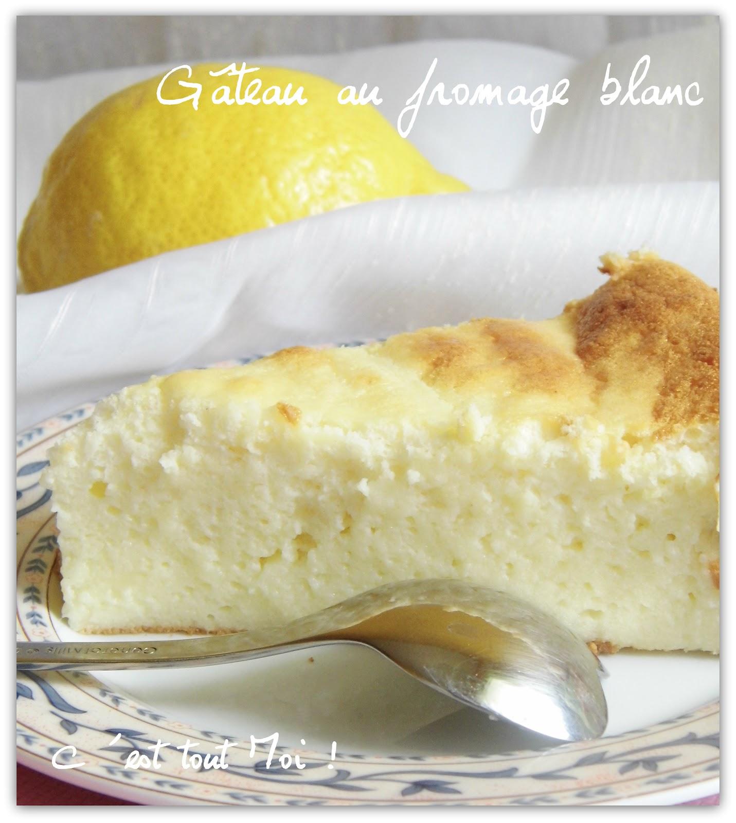 est tout Moi !: Gâteau au fromage blanc