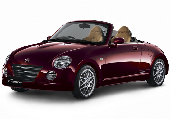 home car collections daihatsu copen. Black Bedroom Furniture Sets. Home Design Ideas