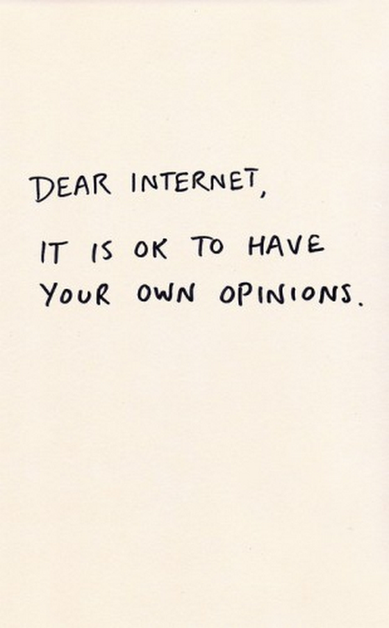 Have your opinion