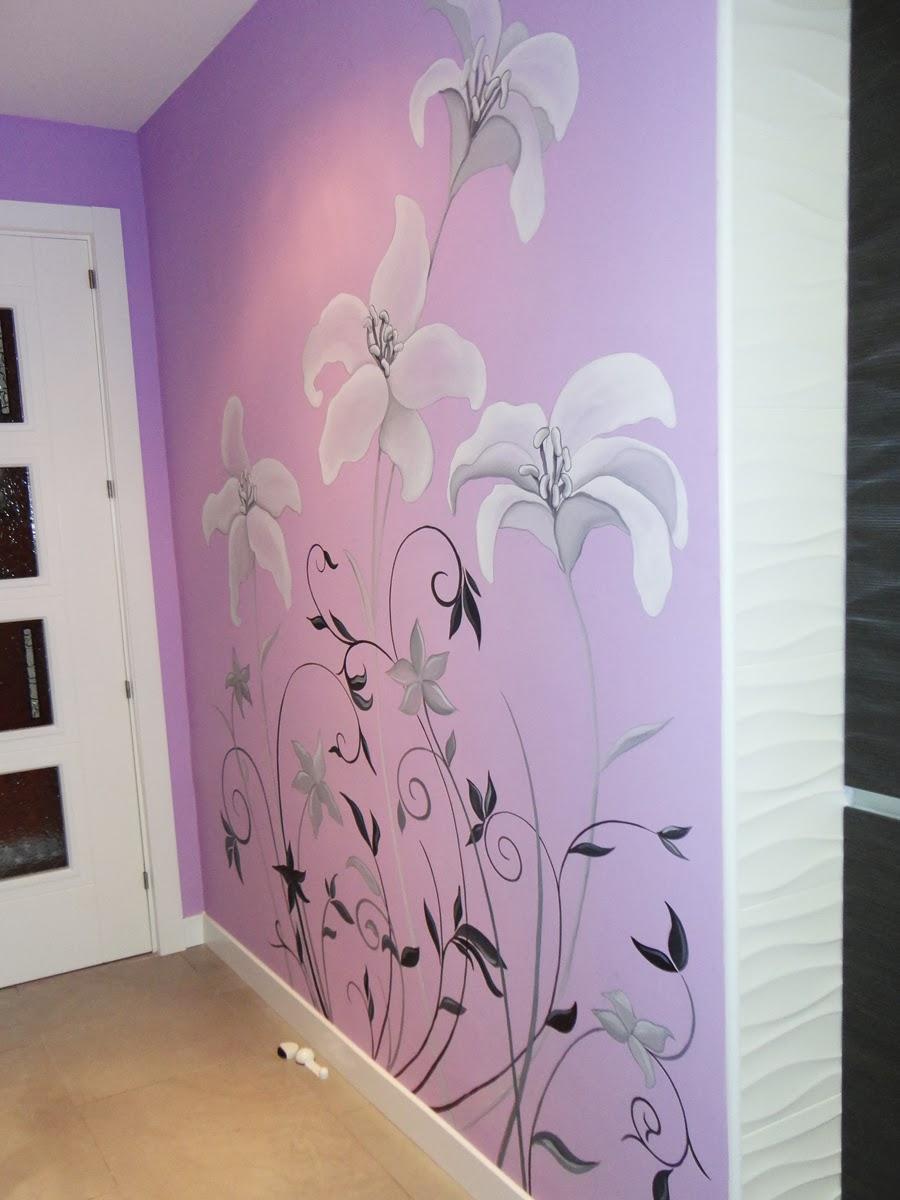 Decopared mural pintado en cocina - Murales pintados a mano ...
