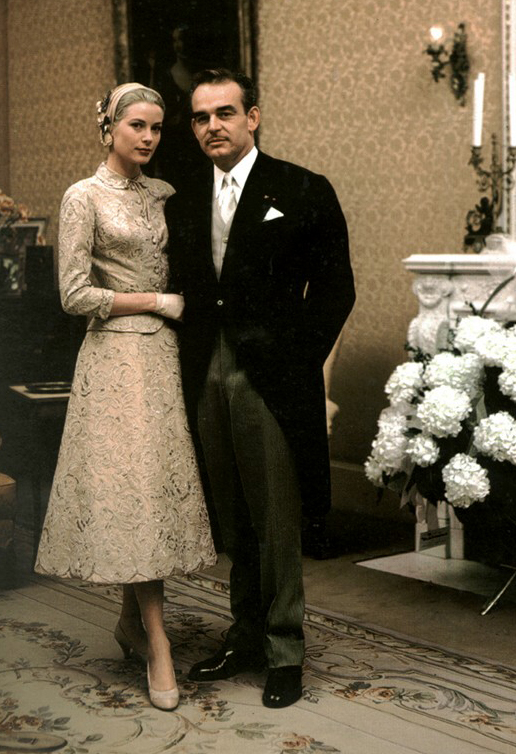 the foxling: Grace Kelly\'s Wedding