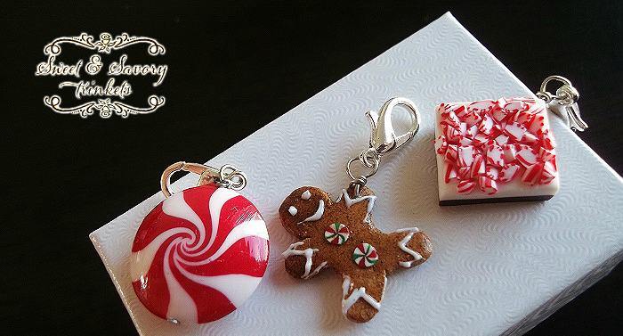 handmade food charms