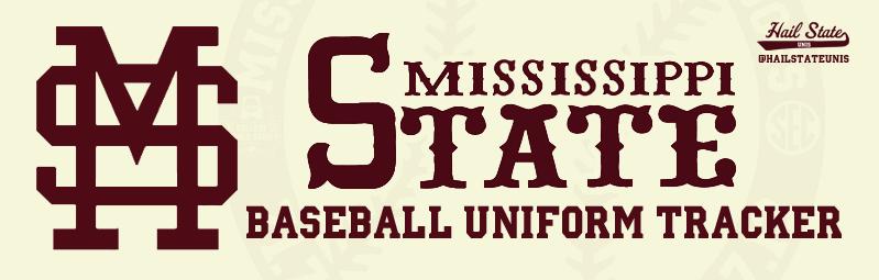 Mississippi State Baseball Uniform Tracker