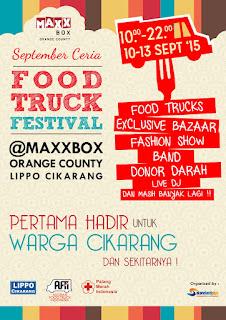 MaxxBoxx September Ceria Food Truck Festival